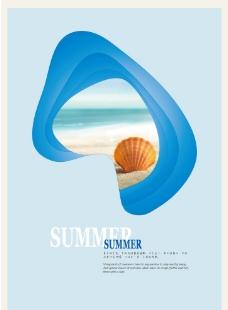 夏天海报图片