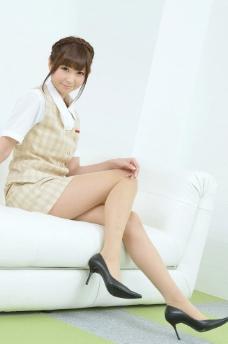 性感OL美女美腿丝袜图片