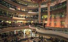 购物中心大堂图片