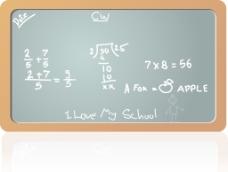 在数学课上