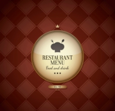 西餐厅菜单封面设计图片