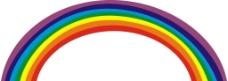 矢量彩虹图片