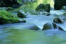流水 石头图片