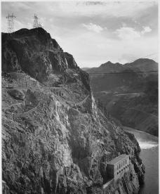 黑白水电站图片