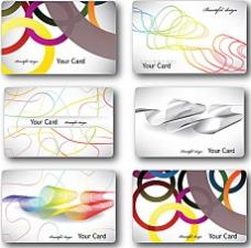 个性简介卡片矢量素材