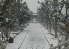 雪后木渎图片