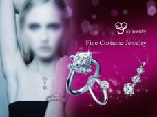 钻石宣传海报图片