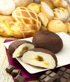 巧克力面包图片