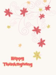 图为感恩节快乐