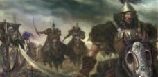 蒙古骑兵图片