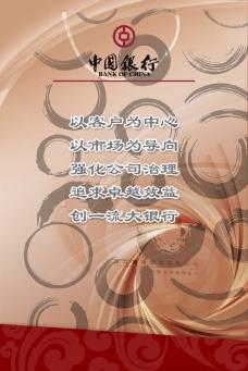 文化展板设计中国银行