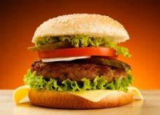 高清汉堡图片