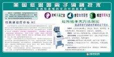 医院宣传画源文件美国低温等离子消融技术