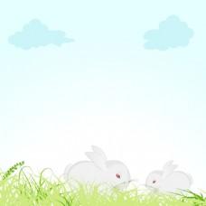 复活节庆祝活动的概念
