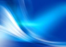 普通蓝色桌面