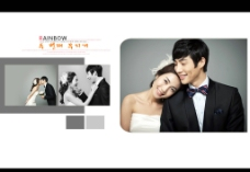 婚纱照相册模板图片