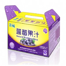 藍莓果汁包裝
