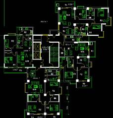 别墅住宅平面图图片