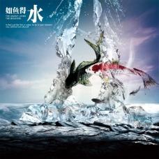 文化展板设计如鱼得水