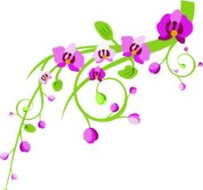 植物花矢量圖片