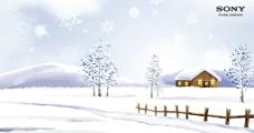 雪景电脑壁纸图片