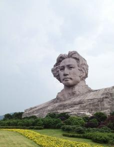 湖南韶山 毛泽东像图片