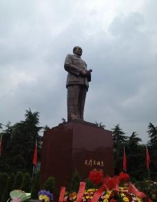 领袖毛主席雕塑图片