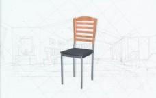 国际主义家具椅子0493D模型