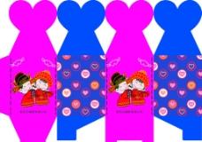 喜糖包装盒图片