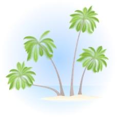 棕榈岛向量
