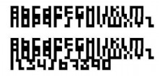 Execute 2000 像素字体