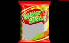 糖包装图片