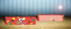 立体包装盒效果图