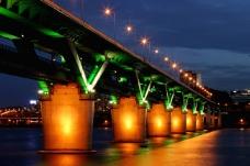 高清城市夜景大桥