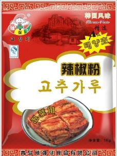 韩国辣椒粉图片
