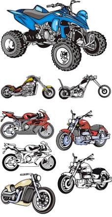 炫酷摩托素材