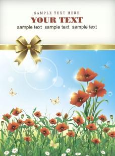 花卉矢量背景图片