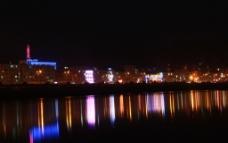 黄河夜景图片