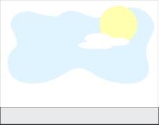 太阳天空背景