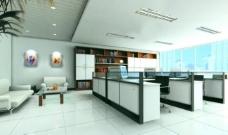 办公室 装修 效果图图片