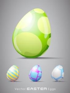 向量的复活节的背景说明