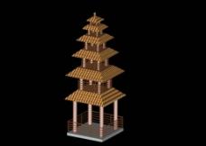max构件 模型素材图片
