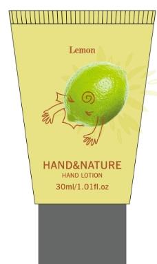 柠檬 化妆品软管图片