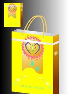 化妆品手提袋设计图片