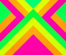 绿色时髦的几何背景