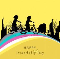 快乐友谊日背景