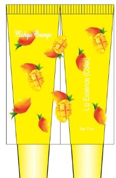 芒果橘子 化妆品软管图片