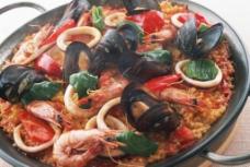 海鲜饭图片