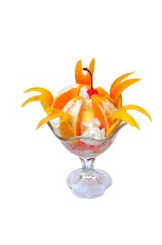 香橙雪糕盅图片