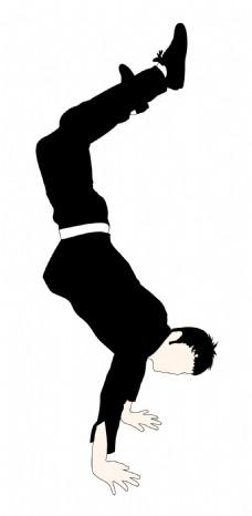 跳舞的男孩